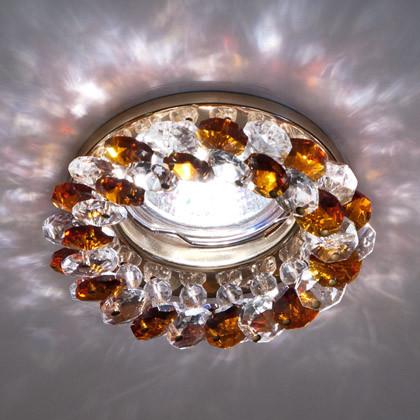 Точечный светильник с кристаллами Feron CD4141