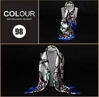 Шарфик Gucci модный женский шарф легкий весенний