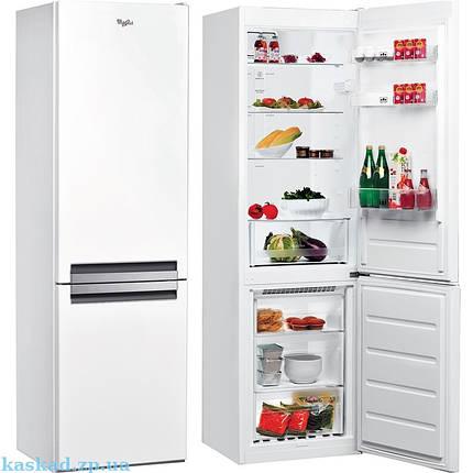 Холодильники с нижней морозилкой Whirlpool  BSNF 8121 W, фото 2
