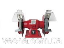 Электроточило ВЕКТОР ВЭТ-250 (опорная пластина, асинхронный двигатель)