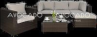 Комплект плетених меблів з ротангу PULA I  + крісло BRAUN  240х156см