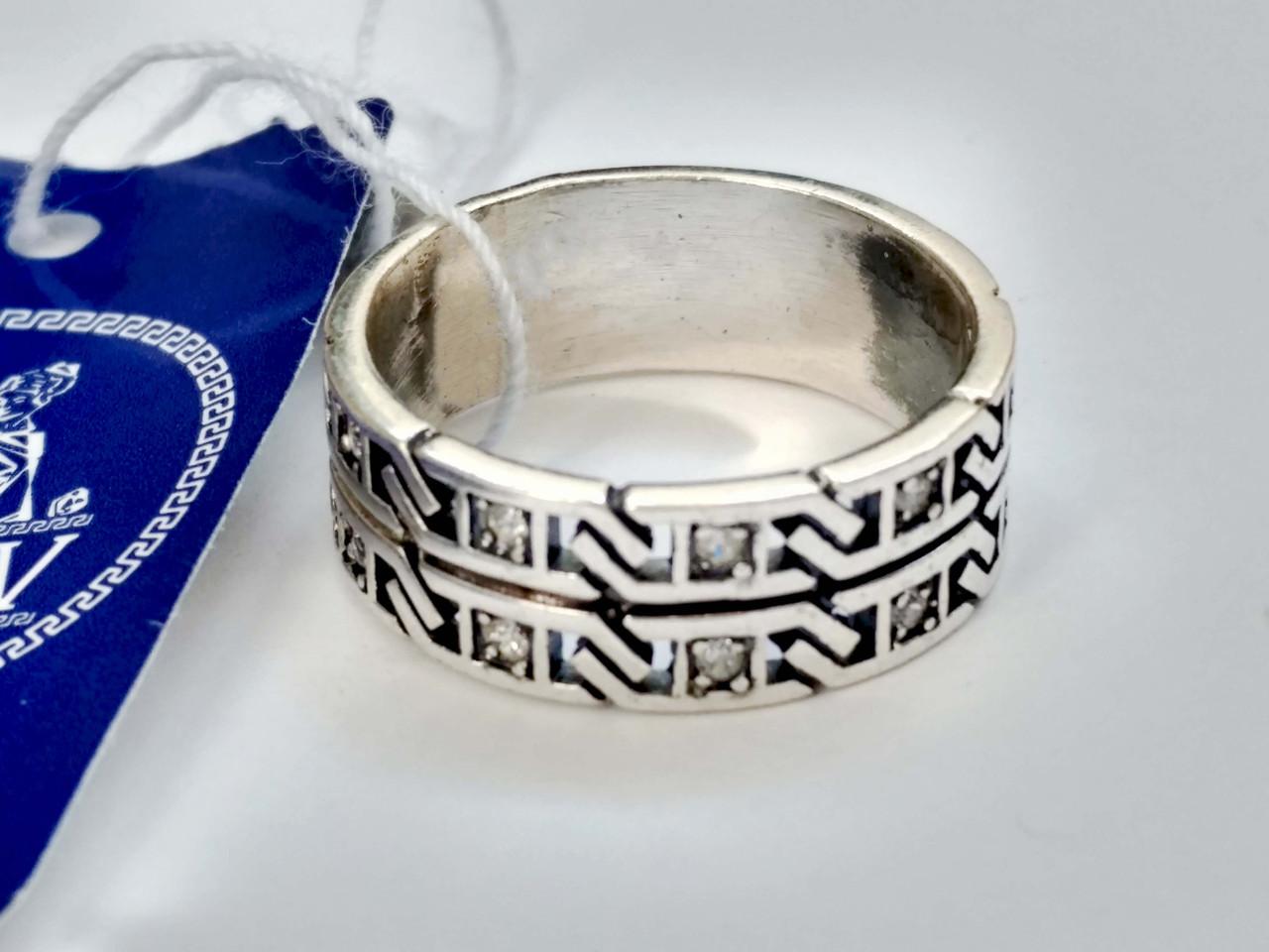 Серебряное кольцо Жокей