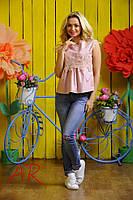 Блуза женская хлопковая в расцветках