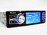 """Автомагнітола Pioneer 3611 Blue - 3,6"""" TFT Video екран -Divx/mp4/mp3 USB+SD, фото 2"""