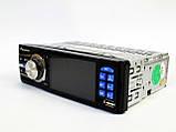 """Автомагнітола Pioneer 3611 Blue - 3,6"""" TFT Video екран -Divx/mp4/mp3 USB+SD, фото 3"""