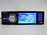 """Автомагнітола Pioneer 3611 Blue - 3,6"""" TFT Video екран -Divx/mp4/mp3 USB+SD, фото 5"""