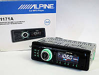 Автомагнитола ALPINE 1171 USB+SD+AUX+FM (4x50W), фото 1