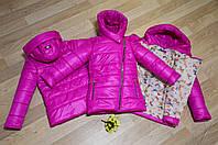 Куртка для девочки косуха, весна-осень