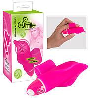 Минивибратор на палец Smile Little Dolphin