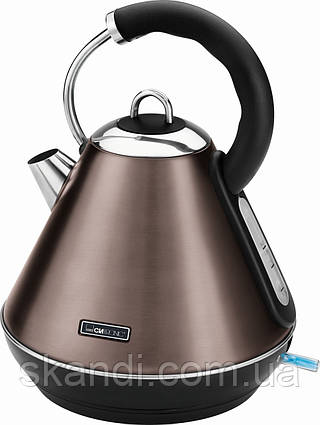 Беспроводной чайник CLATRONIC WKS 3625 1,8 л коричневый