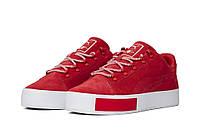 """Оригинальные мужские кроссовки Puma Court Platform Suede x Daily Paper """"High Risk Red"""""""