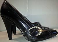Туфли женские натуральная кожа р37 ALAMO 79 лак TONI
