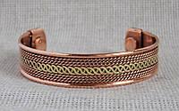 Медно-магнитный браслет №1. Лечебные браслеты