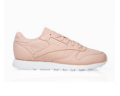 "Женские кроссовки Reebok Classic Leather ""Rose Cloud"" топ реплика"