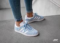 Кроссовки Adidas Gazelle SKY Blue 36-40 рр