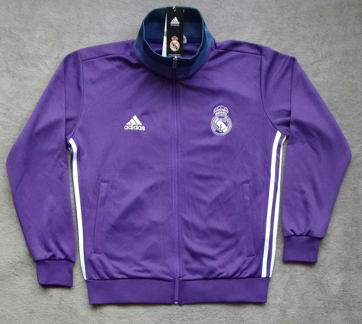 002ad1bcd076 Купить Олимпийка футбольная Реал Мадрид фиолетовая в Украине.