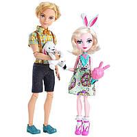 Набор кукол Эвер Афтер хай Банни Бланк и Алистер Вандерленд Ever After High Bunny Blanc Alistair Wonderland
