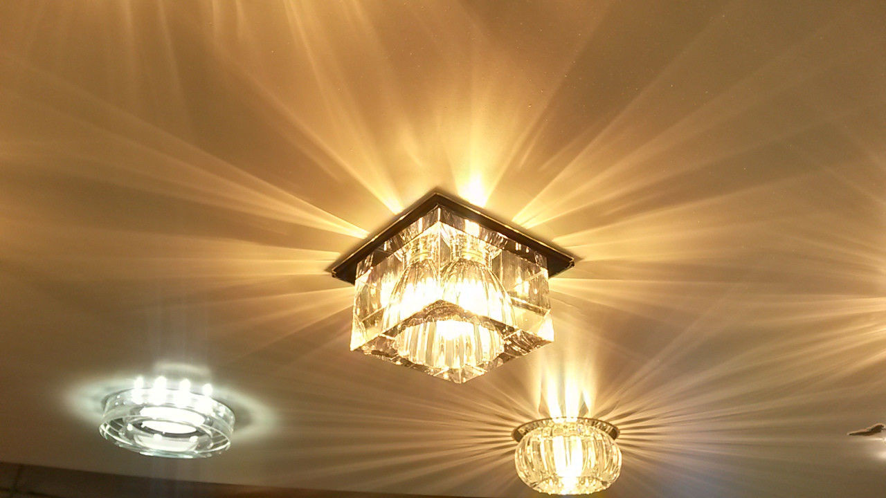 Точечный светильник Feron JD55 прозрачный