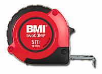Рулетка измерительная 5 метров twoCOMP BMI 472541021