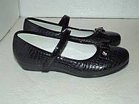 Новые черные туфли, р. 35(22,5см)