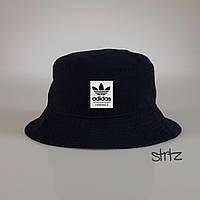 Черная мужская панама Adidas (Есть большой ОПТ!)реплика