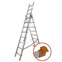 Лестница универсальная-01409 (3*9)BUDFIX 62192