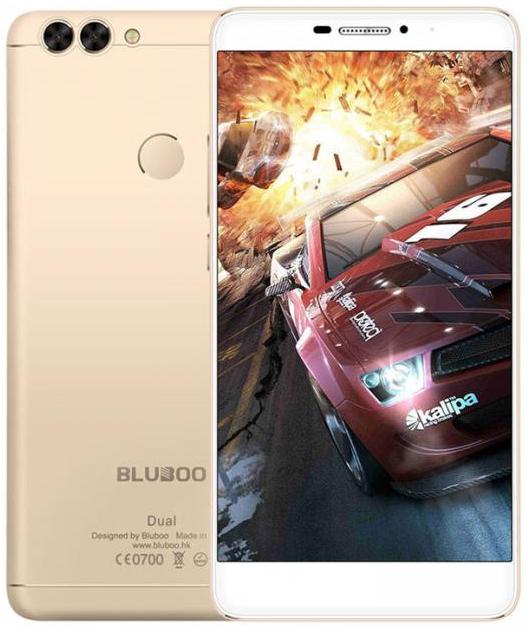 """Bluboo Dual gold  2/16 Gb, 5,5"""", MT6737, 3G, 4G"""