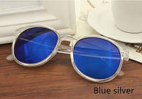 Солнцезащитные очки синие