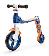 Самокат Highwaybaby сине-оранжевый, до 3 лет/20кг, Scoot and Ride