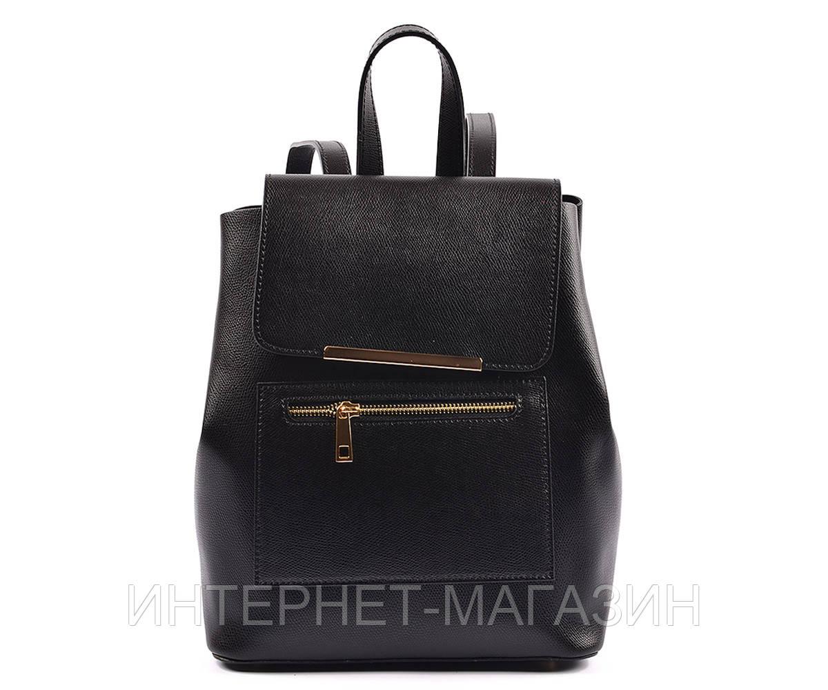 8e904e4a5590 Стильный кожаный рюкзак чёрный, цена 1 765 грн., купить в Ровно ...
