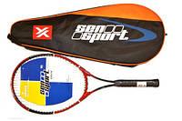 Ракетка Для Большого Тенниса В Цельном Чехле