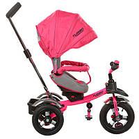 Трехколесный детский велосипед M 3193-3A розовый
