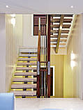 Лестница. Лестница на одном центральном косоуре (монокосоуре), фото 5