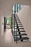 Лестница. Лестница на одном центральном косоуре (монокосоуре), фото 6