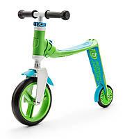 Самокат Highwaybaby зелено-синій, до 3 років/20кг, Scoot and Ride, фото 1