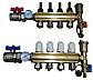 Колектор теплої підлоги AquaWorld для низькотемпературних систем на 11 контурів, фото 5