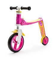 Самокат Highwaybaby розово-желтый, до 3 лет/20кг, Scoot and Ride