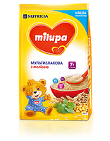 Молочная каша Milupa мультизлаковая с мелисой 210 гр.с 7 мес