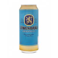 Пиво Lowenbrau Original светлое фильтрованное 5.2% 0.5l Германия