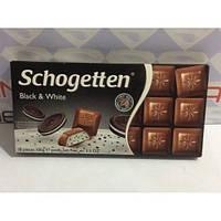Шоколад Schogetten Black & White 100g