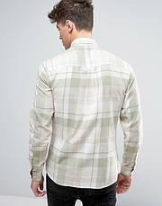 Мужская рубашка в клетку Hadin от Solid  в размере L, фото 3