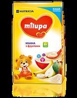 Каша Milupa манная с фруктами 210 гр.с 6 мес