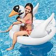 """Дитячий надувний пліт для купання """"Лебідь"""" Intex 57557 NP, (130*102*99 см), фото 2"""