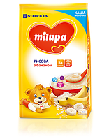 Молочная каша Milupa рисовая с бананом 210 гр.