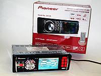 "Автомагнитола Pioneer 3013A - 3"" Video экран -Divx/mp4/mp3 USB+SD, фото 1"