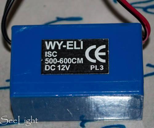 Инвертор для холодного неона серии ISC 12V 10-12m/5-6m., фото 2