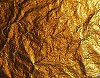 Поталь свободная, золото, №2,5 /имитация/ в листах, 16х16см, 10 листов, Nazionale, 9712501