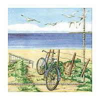 "Декупажная салфетка ""Пляж"", 33*33 см, 18 г/м2, Ambiente, 13303325"