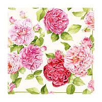 "Декупажная салфетка ""Розы"", 33*33 см, 18 г/м2, Ambiente, 13305875"