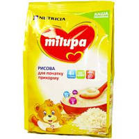 Каша Milupa сухая безмолочная рисовая 170 гр.